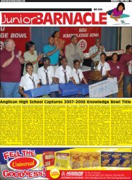Anglican High School Captures 2007-2008 Knowledge Bowl Title