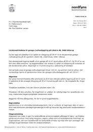 Opførelse af garage- / udhusbygning - Nordfyns Kommune