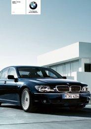 The BMW 7 Series 760i Saloon - Vines