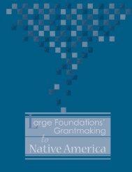Philanthropy 8.19.qxp - Native Nations Institute - University of Arizona