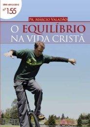 O Equilíbrio na Vida Cristã - Lagoinha.com