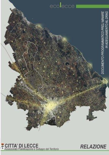 Relazione - Comune di Lecce