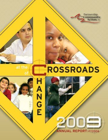 PCA Annual Report FY2009 - Partnership for Community Action