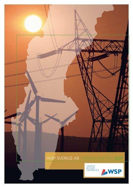 WSP SVERIGE AB VERKSAMHETEN 2009 - WSP Group