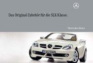 Das Original-Zubehör für die SLK-Klasse. - Mercedes