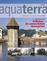 Erdbeben - die unterschätzte Naturgefahr - bebende Schweiz