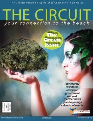 The Green Issue - Panama City Beach Chamber of Commerce