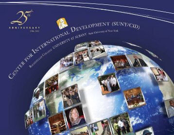 pdf - Center for International Development - The State University of ...