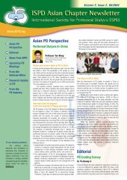 Asian PD Perspective Editorial - International Society for Peritoneal ...