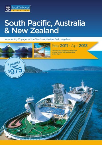 South Pacific, Australia & New Zealand - Royal Caribbean UK