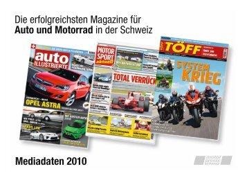 Mediadaten 2010 Die erfolgreichsten Magazine für ... - TÖFF-Magazin