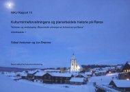 NIKU Rapport 10