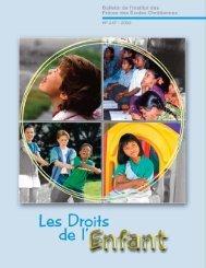 Les Droits de l'Enfant - La Salle.org