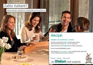 Akcija! - Vaillant