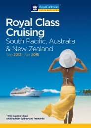 South Pacific, Australia & New Zealand - Royal Caribbean UK