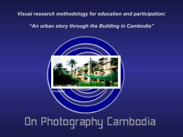 "Visual research methodology for education and participation: ""An ..."