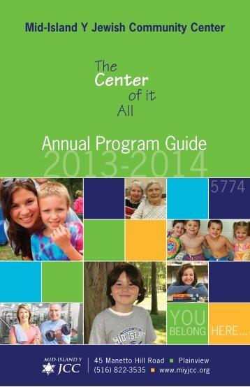 Program Guide - Mid Island Y JCC