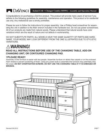Valerie Crib M5101 Million Dollar Baby