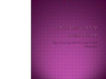 Vocab List 9 - SoylentGreene