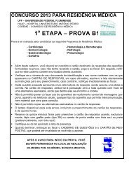 1 ETAPA – PROVA B1 - Uff