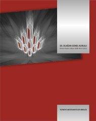 30. OLAĞAN GENEL KURULU - Türkiye Müteahhitler Birliği