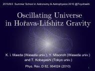 Oscillating Universe in Horava-Lifshitz Gravity