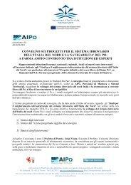convegno sui progetti per il sistema idroviario dell'italia del nord e la ...