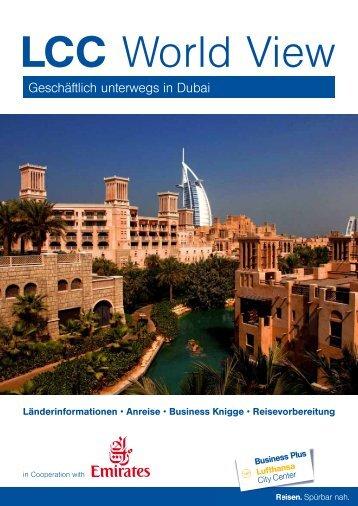 Geschäftlich unterwegs in Dubai