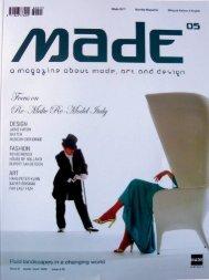 Made Collection 08/09 - Markus Benesch Creates