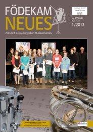 FN Ausgabe 1-13 - Musikverband Födekam Ostbelgien