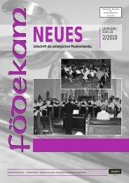FN Ausgabe 2-10 - Musikverband Födekam Ostbelgien VOG