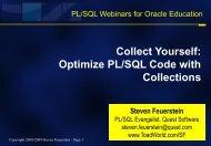 Best Practices for PL/SQL - Toad World