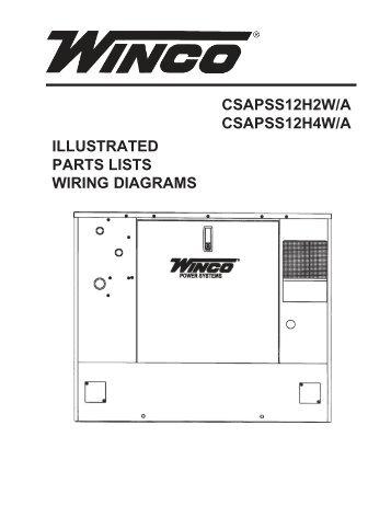 60701 118 parts list and wiring diagram winco generators wiring diagram winco generators 60701 136 parts list pss12h4wa winco generators asfbconference2016 Image collections