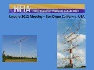 Are HF BLOS Circuits Still Aviable Communications Medium ... - HFIA