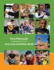 2013-2014 Program Book - First- Plymouth Congregational Church