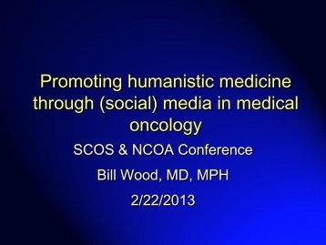 (social) media in medical oncology - Association of Community ...