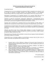 Convención sobre la eliminación de todas las formas - ILANUD