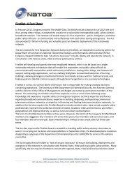 FirstNet: A Fact Sheet - NATOA