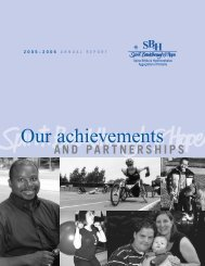 Our achievements - Spina Bifida & Hydrocephalus Association of ...