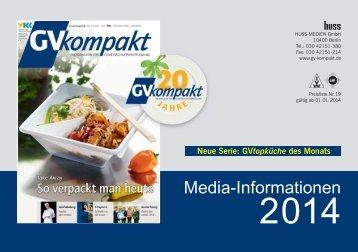 Mediadaten 2013 - GV-kompakt