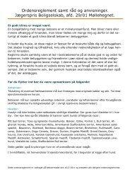 ordensreglement godkendt på afd moede 16 feb 2011 - Domea