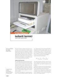 LA VALUTAZIONE DI isolanti termici - ITC cnr