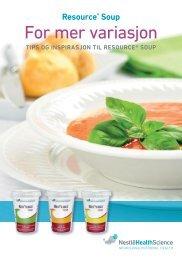 Resource Soup - nestle nutrition