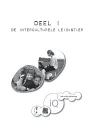DEEL 1 : De interculturele leid(st)er - ella: kenniscentrum gender en ...