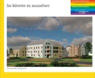 Das städtebauliche Konzept Internet2 - Wohnbauten Schwedt