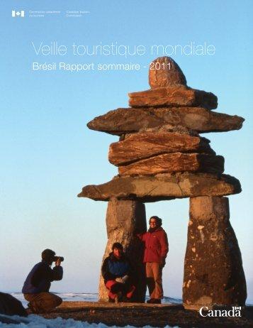Lisez le rapport sommaire 2011 de la Veille touristique mondiale ...