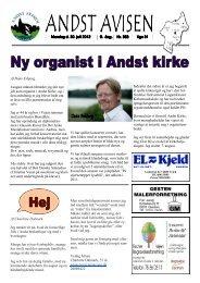 Andst Avisen uge 31 2012