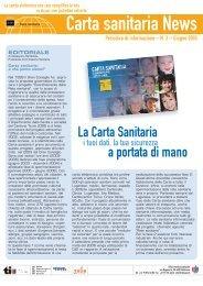Nr.3 - 6.2005 [191 KB] - Rete Sanitaria