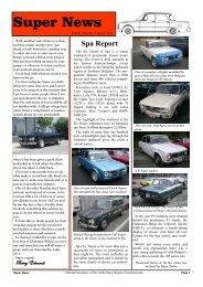 Volume 1 - Number 3 - Alfa Romeo Owners Club