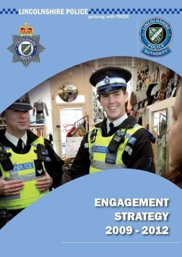 Engagement Strategy 2009-2012.pdf - Lincolnshire Police